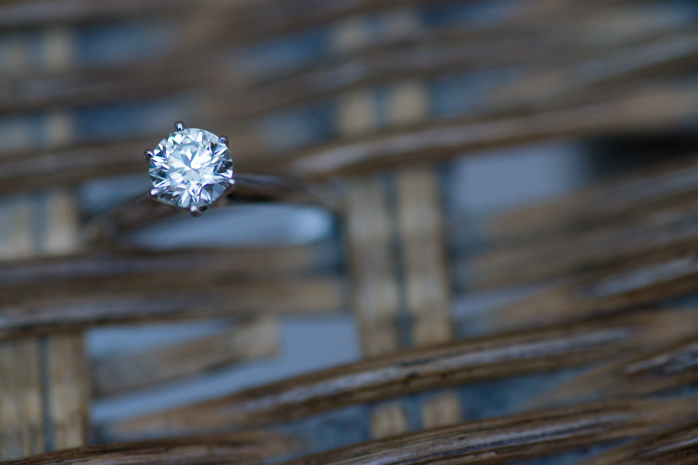 ring details wedding day photography