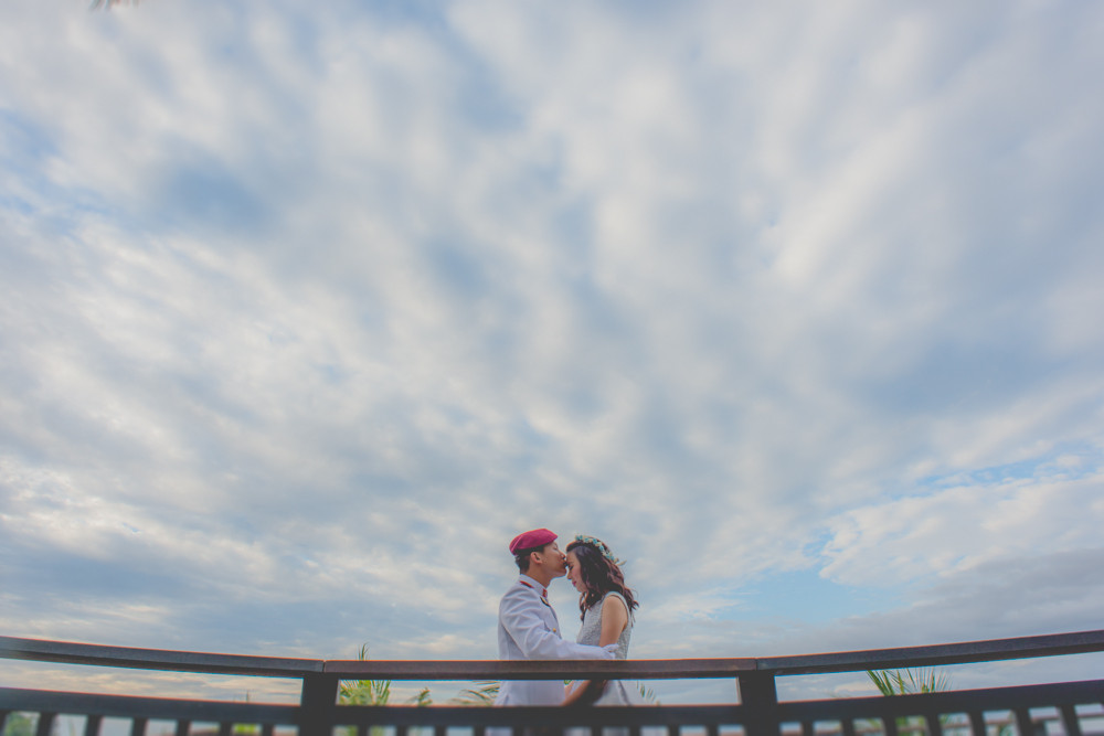 SAF Seaview Resort & Concorde Hotel Singapore wedding photography