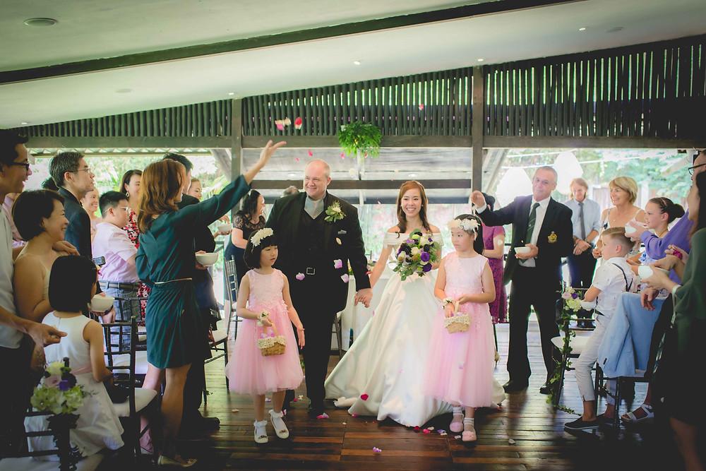 wedding solemnisation at tamarind hill