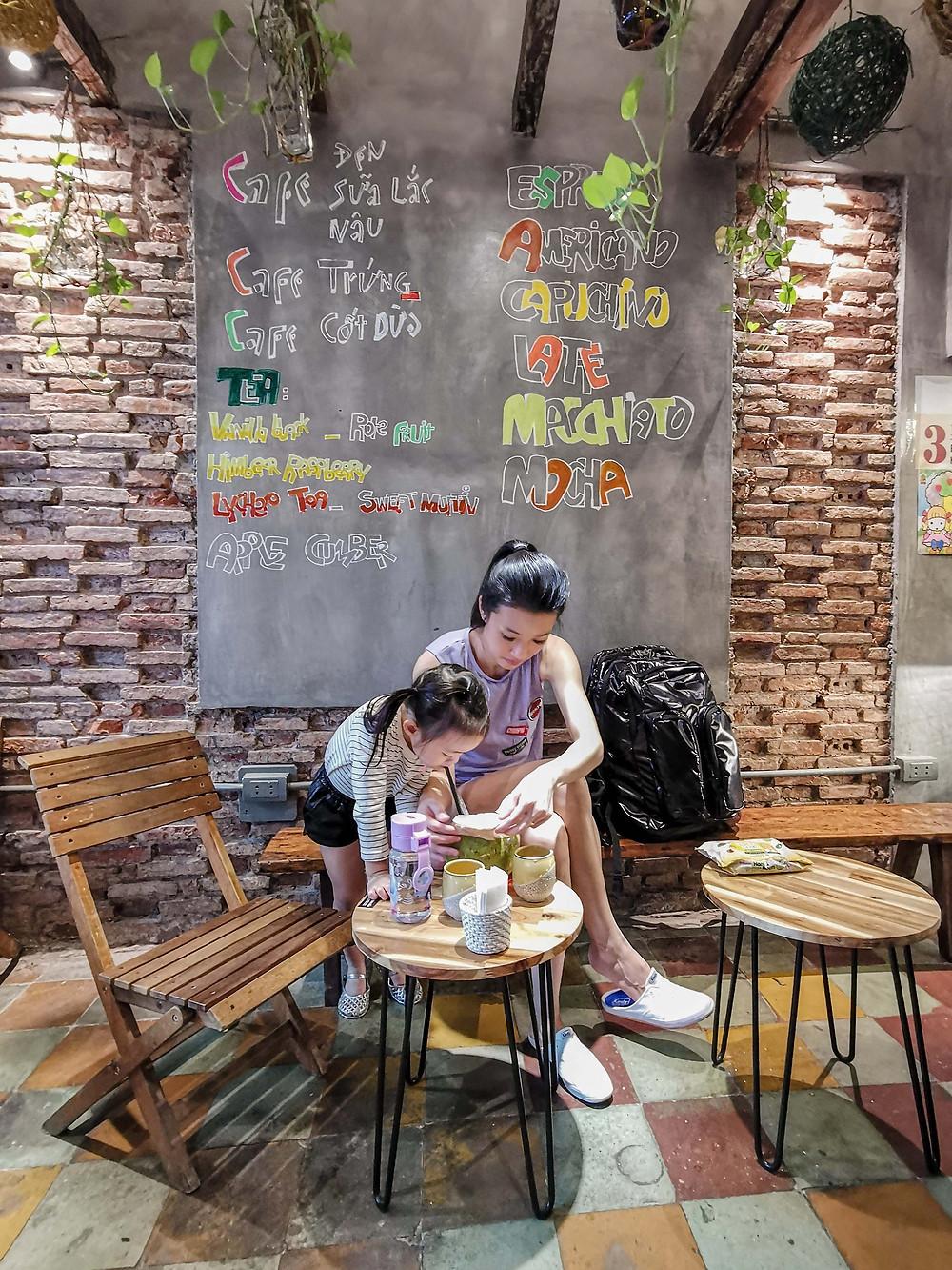 Hanoi cafe coffee