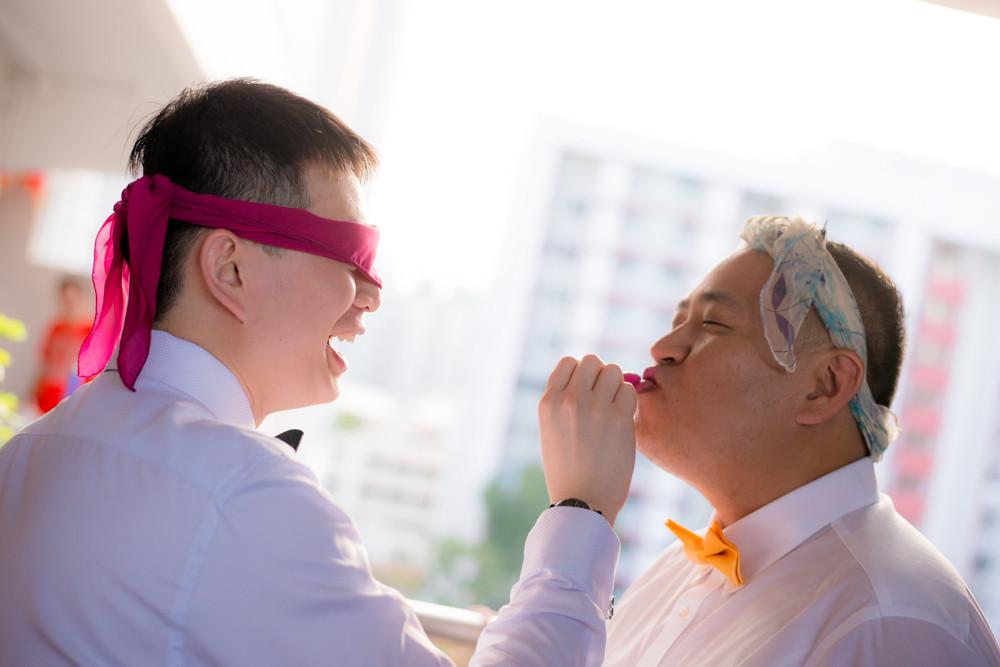 Crowne Plaza Hotel Changi Airport wedding day photography