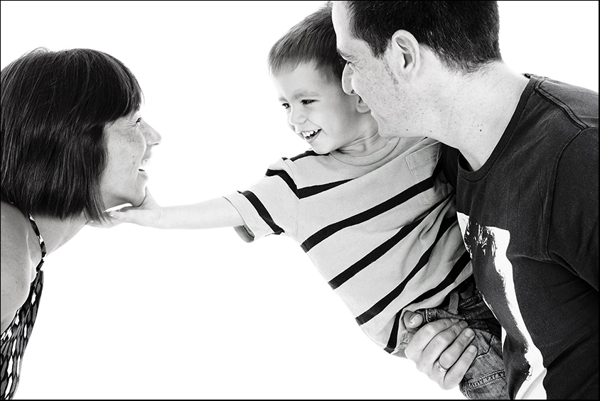 studio photography portrait family
