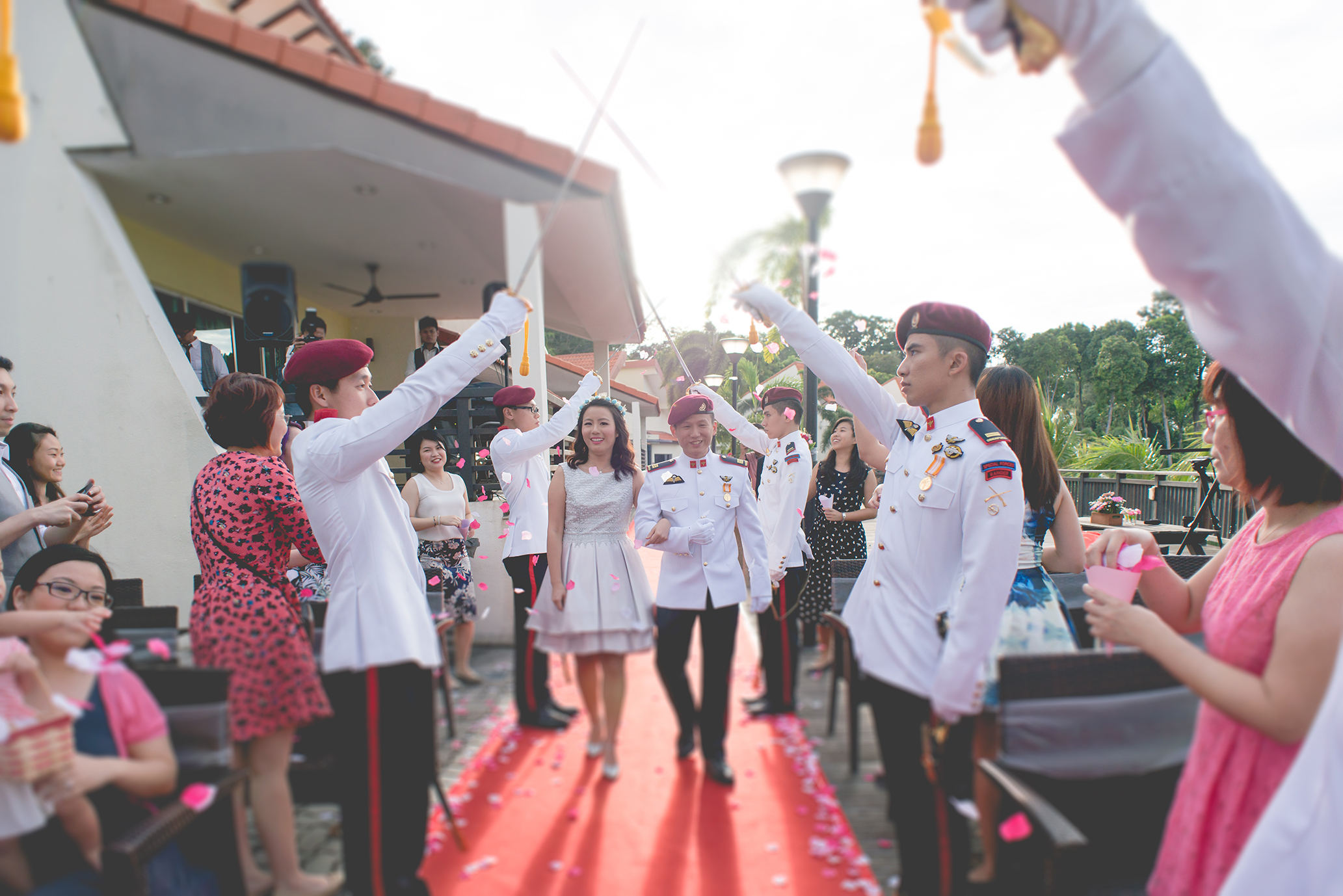 wedding day photography march in