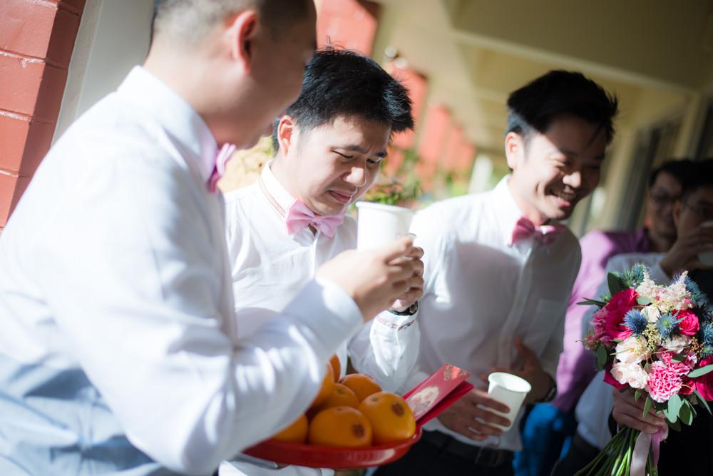 Ang Mo Kio Methodist Church & Civil Service Club wedding