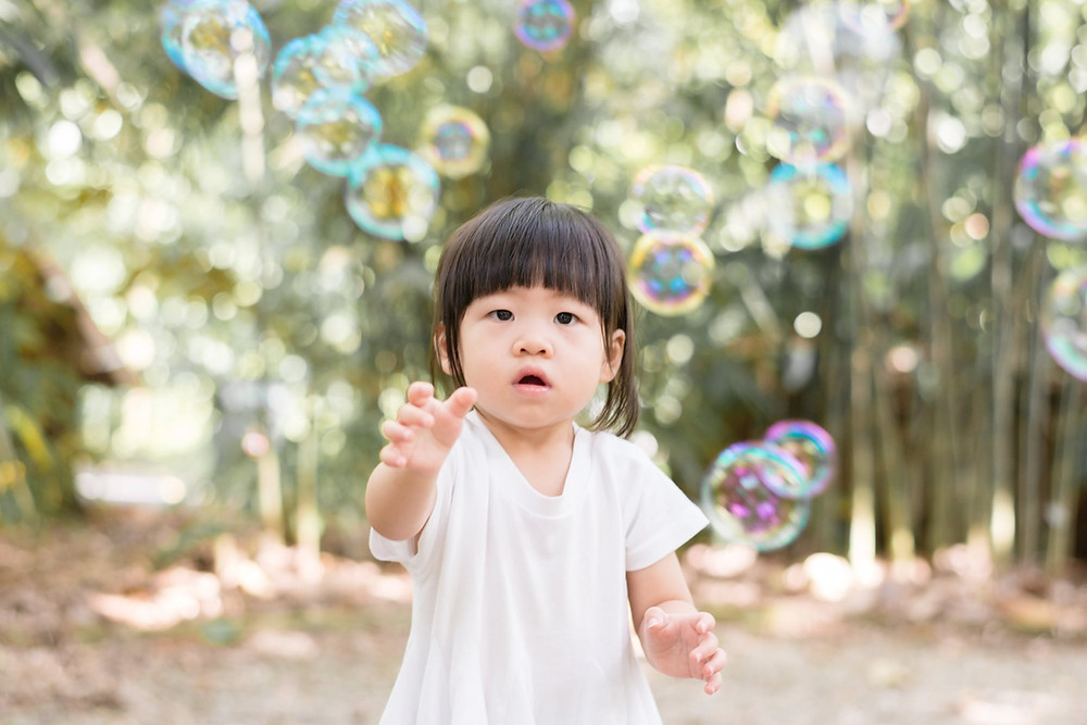 bubble at singapore botanic garden