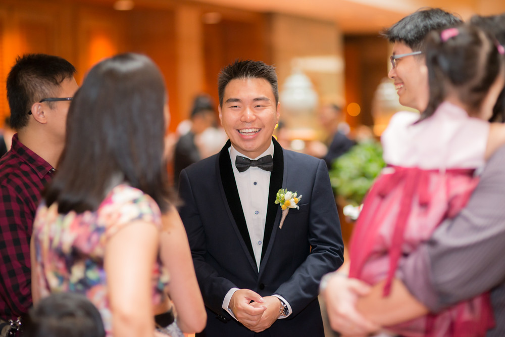 Regent Hotel & Singapore Botanic Gardens wedding day photography