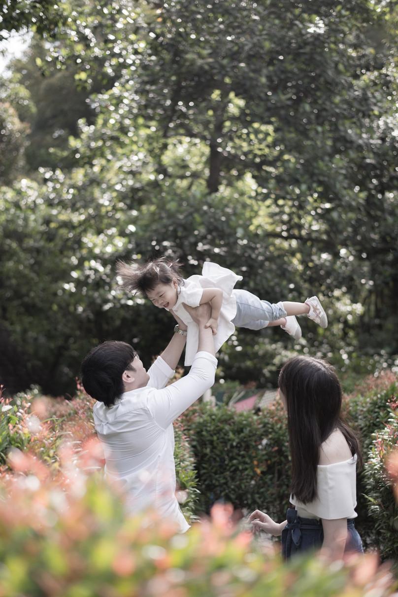 With Love, Raina & Family @ Botanic Garden Singapore