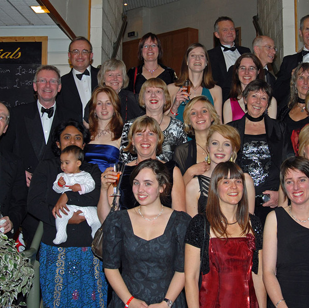 The Choir after performance Whitby 2010