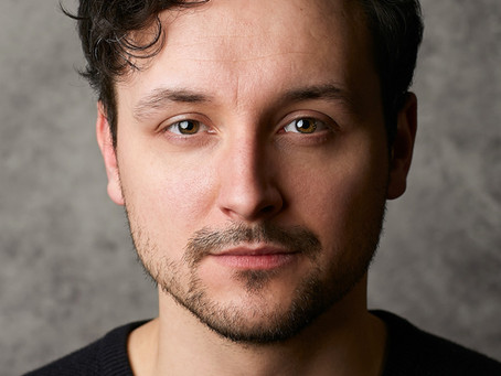 Daniel Matthew Lemon on set for 'The Search'.