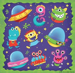 Alien Stickers