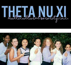 Happy 20th Founders' Day to the Beautiful Butterflies of Theta Nu Xi Multicultural Sorority, Inc