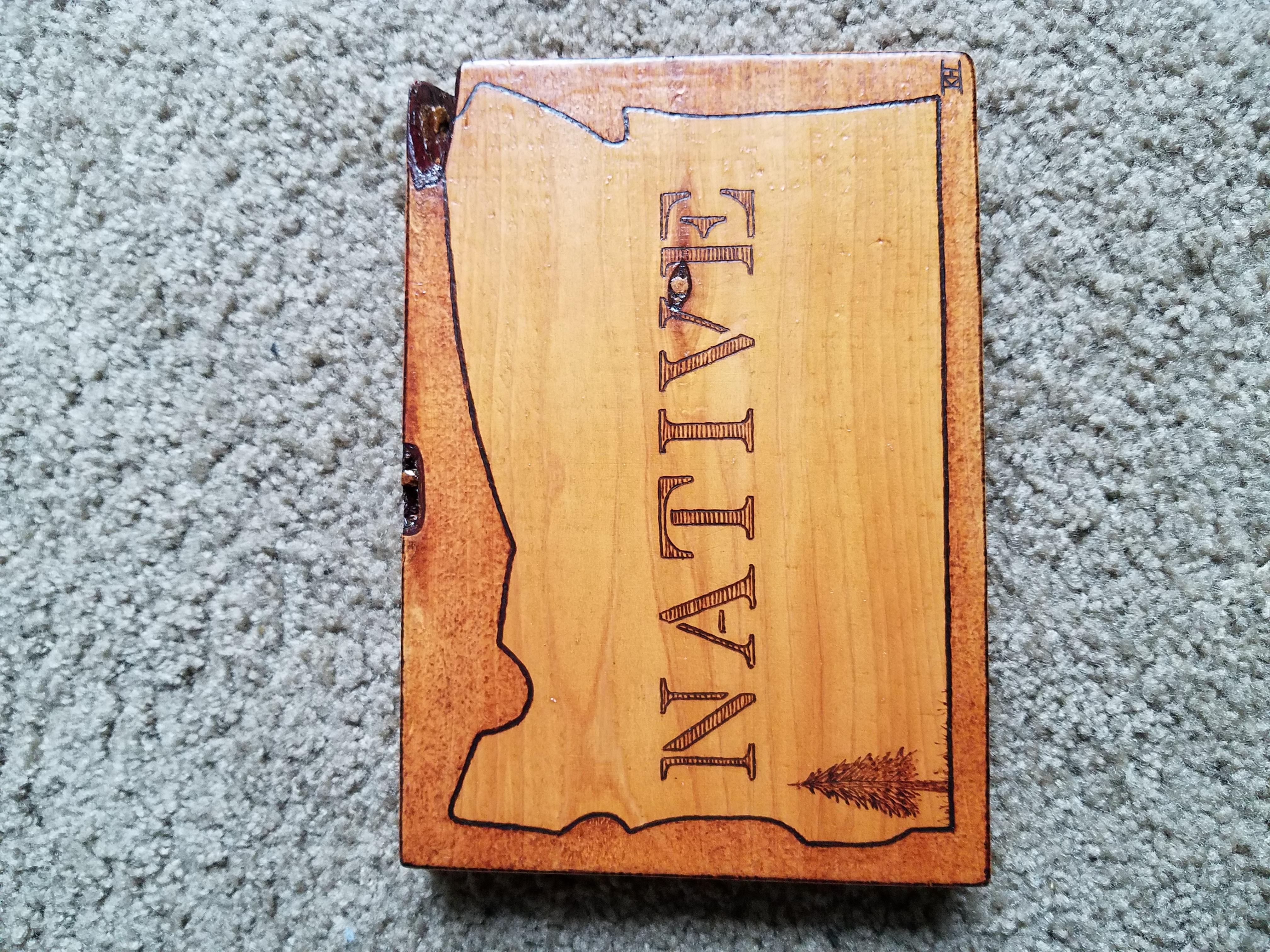 Native Oregon Sign