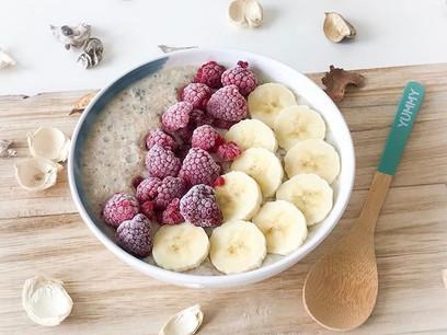 Quick, Easy, Healthy Breakfast. :)