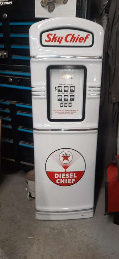 Texaco Diesel Chief gas pump