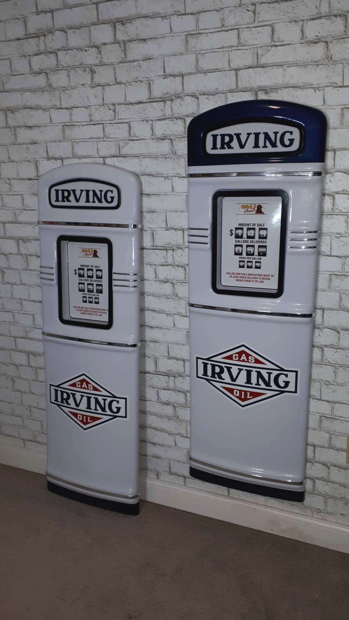 Irving gas pumps