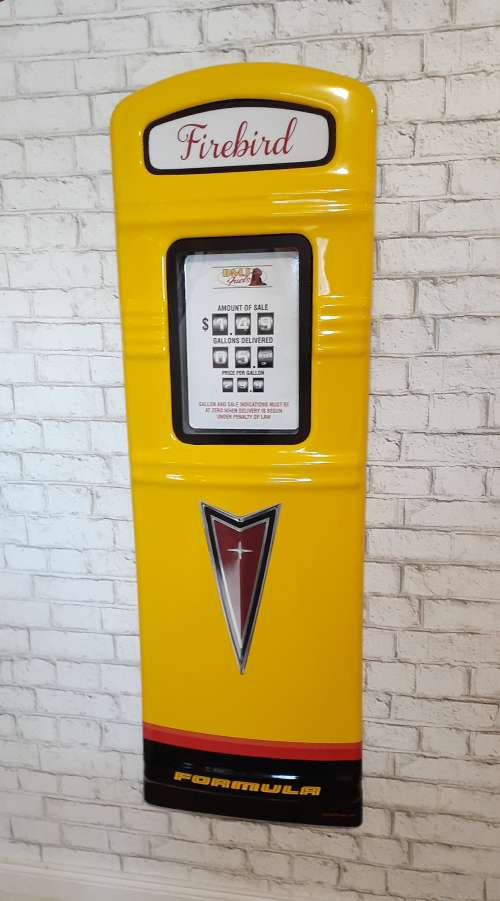 Formula Firebird gas pump front