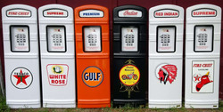 We stock a variety of gas pumps