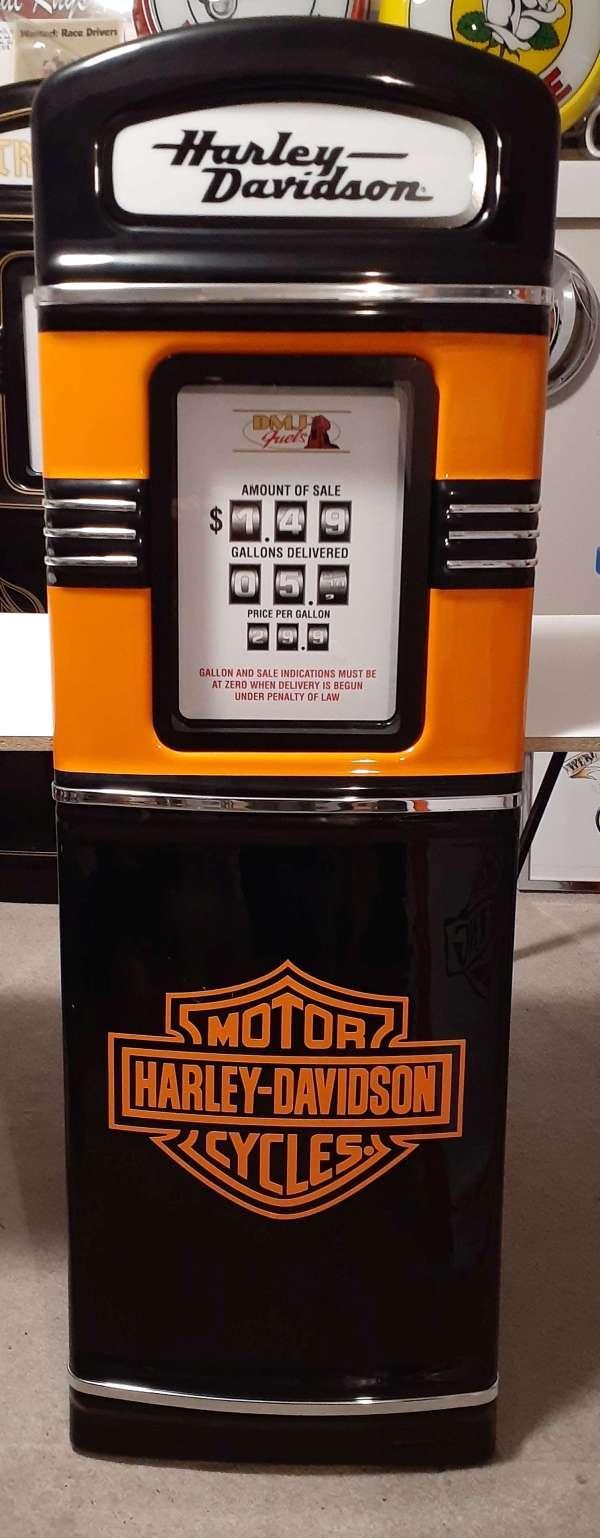 Harley Davidson Gas Pump front