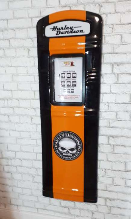 Harley Davidson Gas Pump