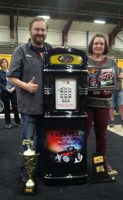 Frexrod Car Show Gas Pump Trophy