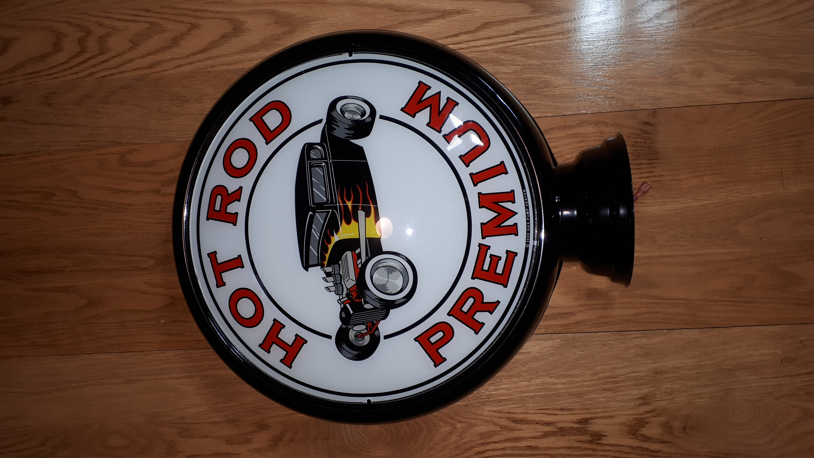 Hot Rod Premium gas pump globe