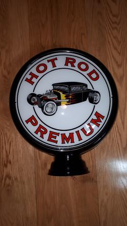 Hot Rod Premium gas pump globe