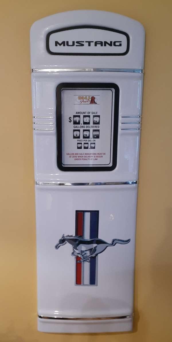 Mustang gas pump
