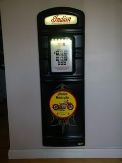 Indian Motorcyles custom gas pump