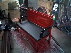 Custom tailgate bench seat