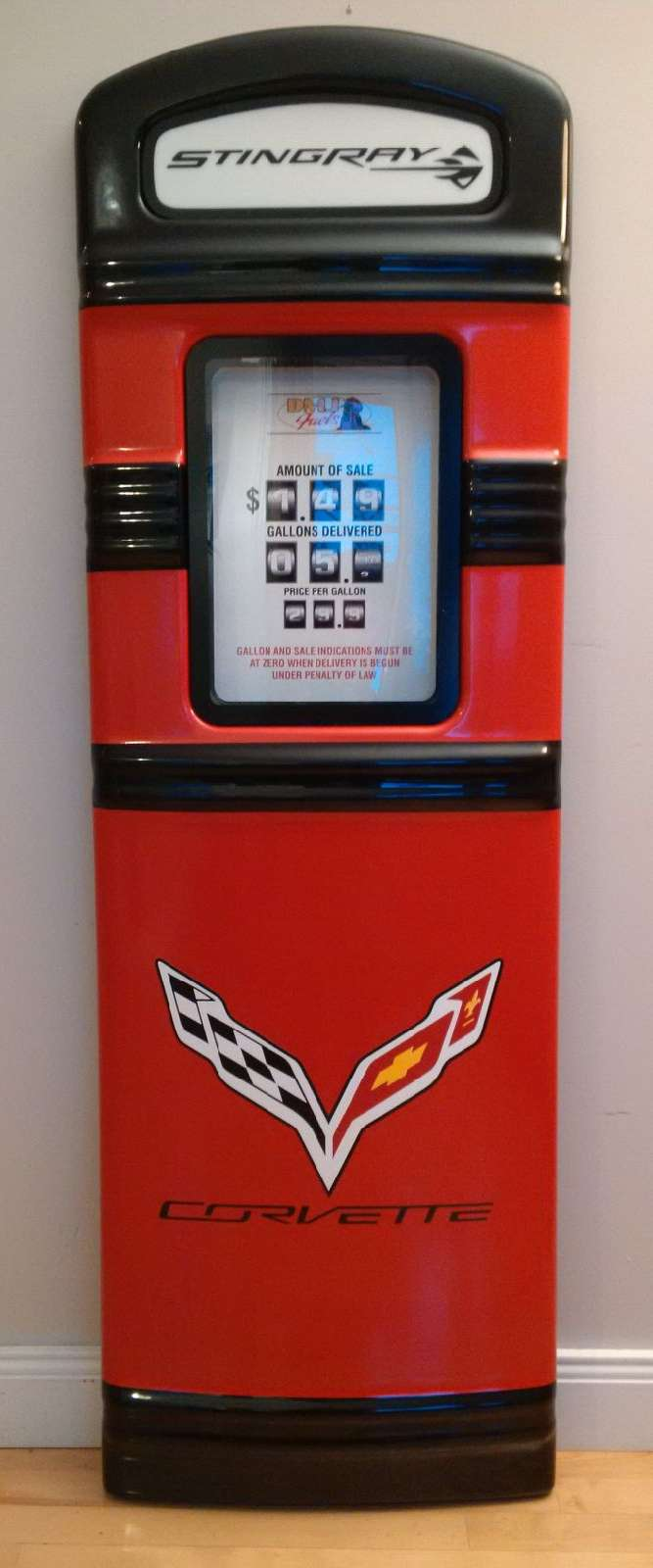 C7 Corvette custom gas pump
