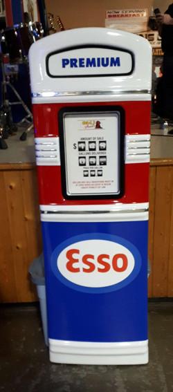 Esso gas pump
