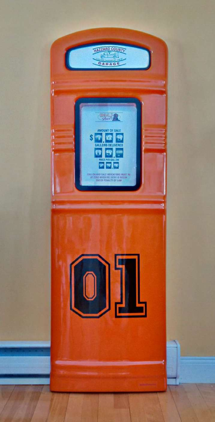 Dukes of Hazzard gas pump