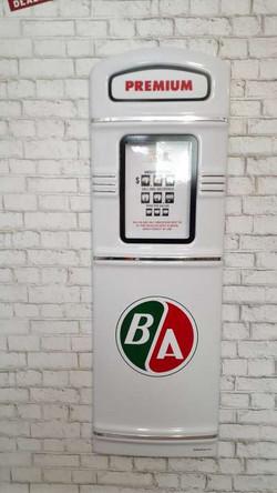 BA gas pump front