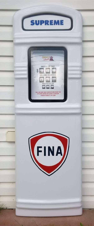 Fina gas pump