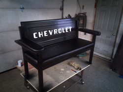 Chevrolet tailgate bench seat