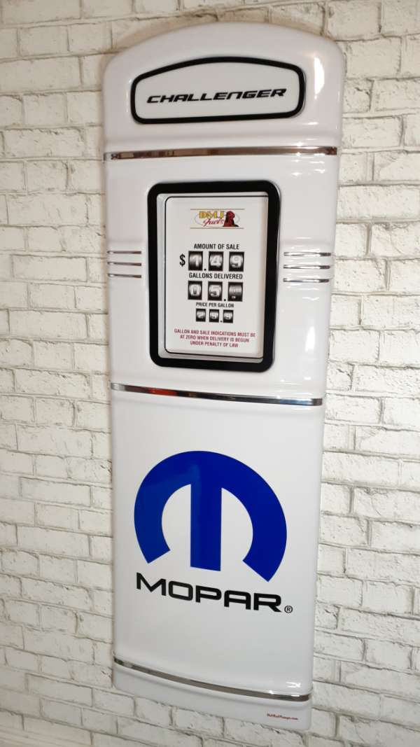 Mopar gas pump front