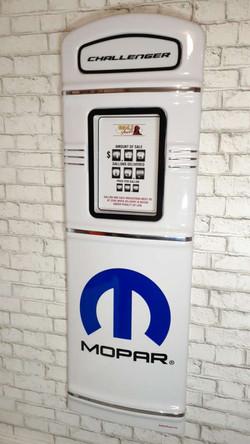 Mopar gas pump front