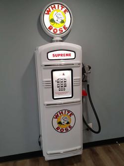 White Rose gas pump