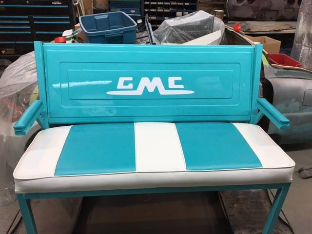 GMC tailgate bench seat