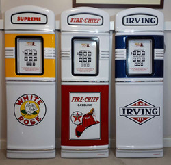 Gas pump fronts