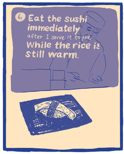 The Ten Commandments of Sushi #6