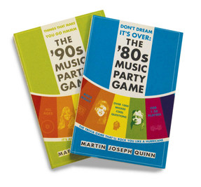The '80s & '90s Music Party Game Covers
