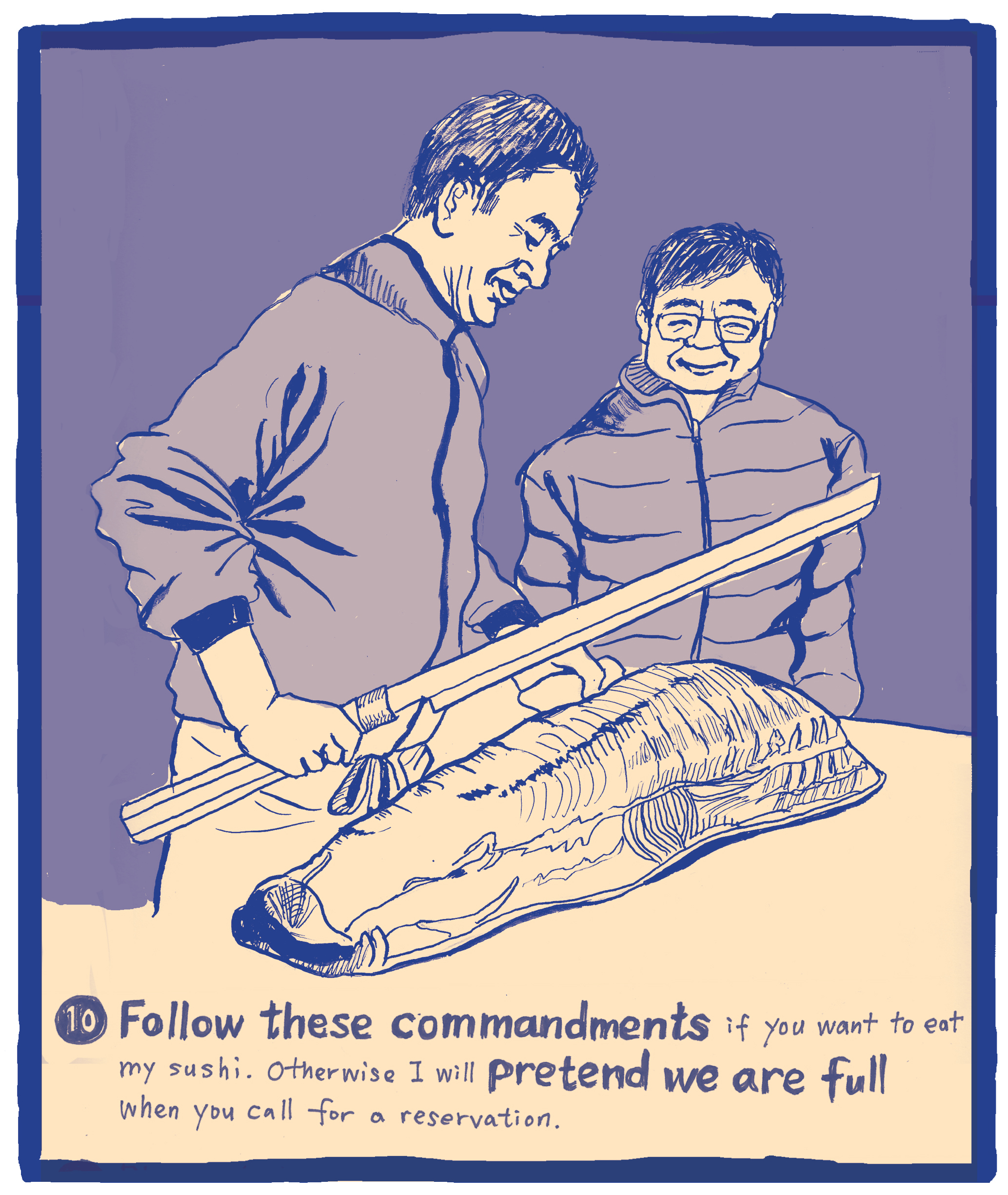 The Ten Commandments of Sushi #10