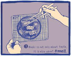 The Ten Commandments of Sushi #3