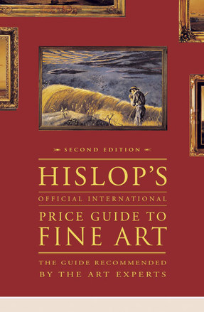 Hislop Official International Price Guide To Fine Art Cover