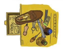 Correa shoemaker tools