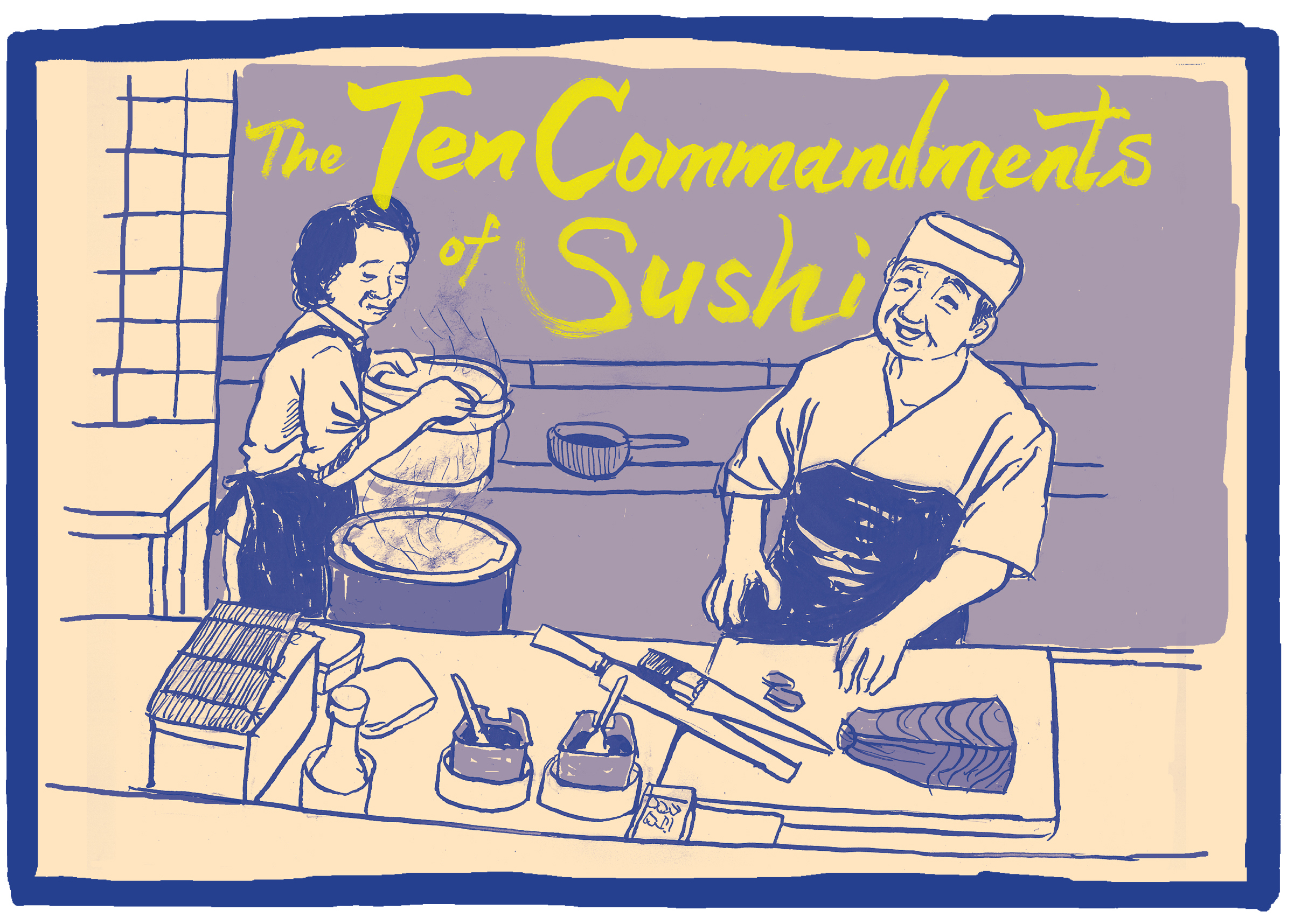 The Ten Commandments of Sushi Title