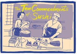 The Ten Commandments of Sushi Title