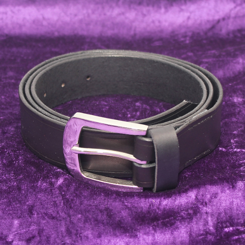 Leather Belt - Plain - Made to Order**