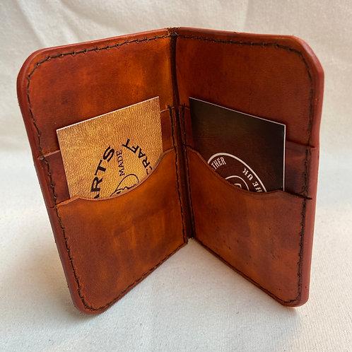 Barnum Wallet - Brown (patina) - Slight Second**